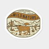 Wild Nature Sticker By TerpeneTom Design By Humans.png